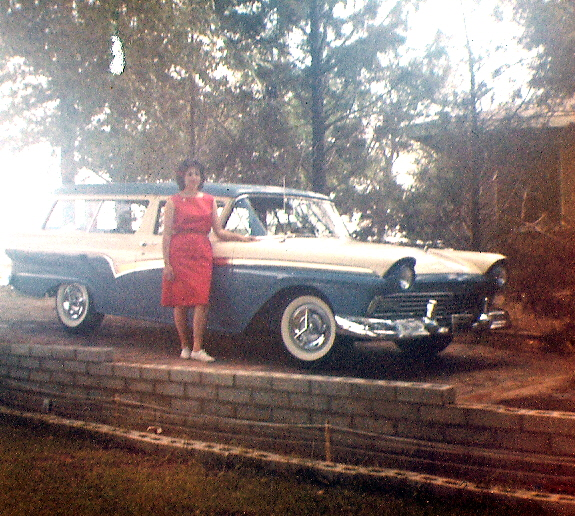 Sharon and \'57 Ford.jpg