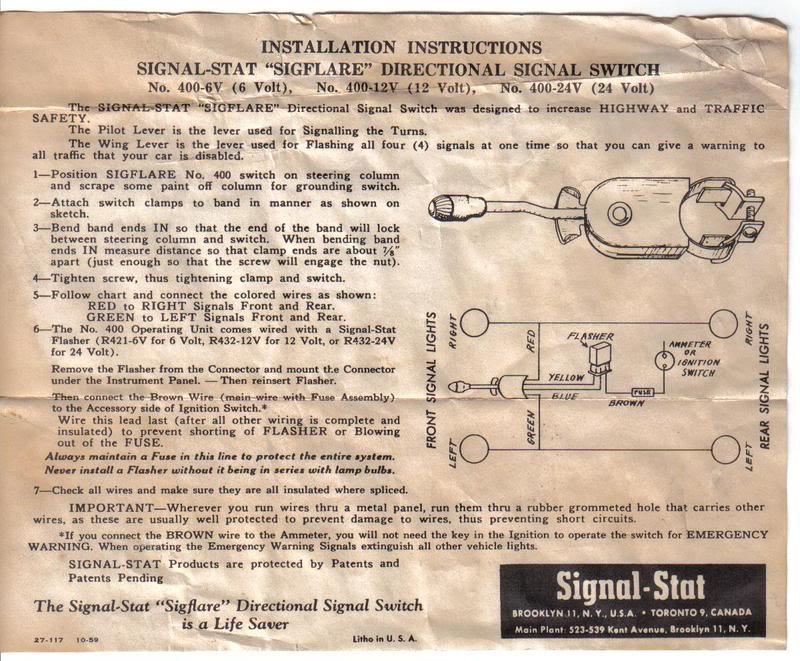 Signal Stat 800 Wiring Diagram from www.jalopyjournal.com