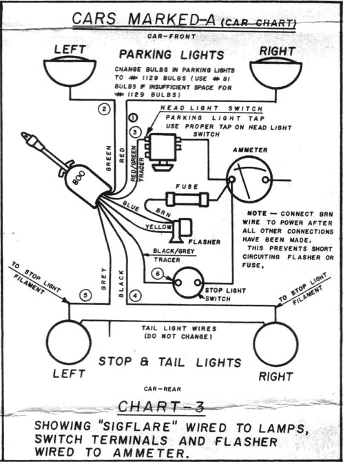 turn signal switch wiring diagram motorcycle turn signal wiring Hot Rod Wiring Harness Kits at fashall.co