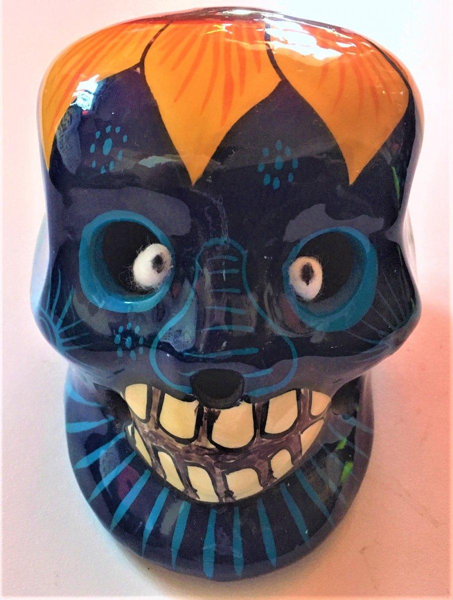 small painted skull 1.JPG