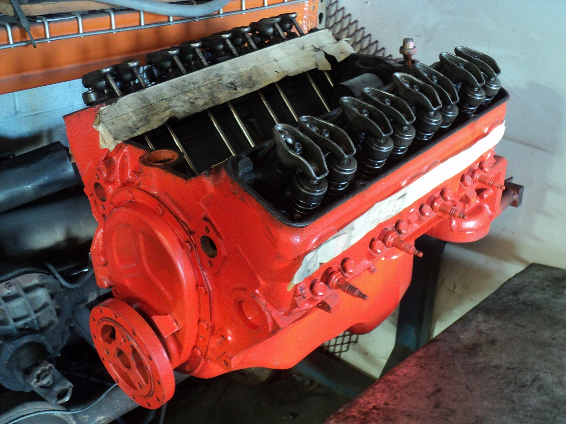283 cid #'s match V8 long block for '57 Chevy | The H A M B