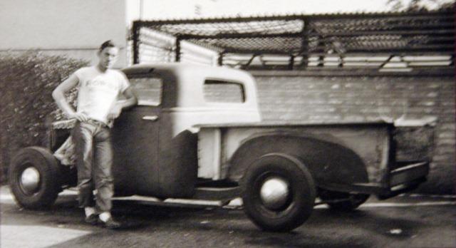 Spence Murray posing with R&C Dream Truck at Valley Custom.jpg