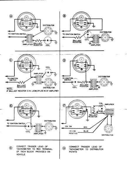 vintage sun tachometer wiring diagram