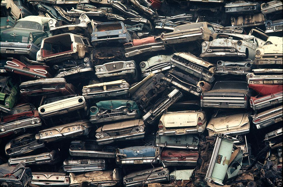 Art & Inspiration - Junkyard stacks | The H.A.M.B.