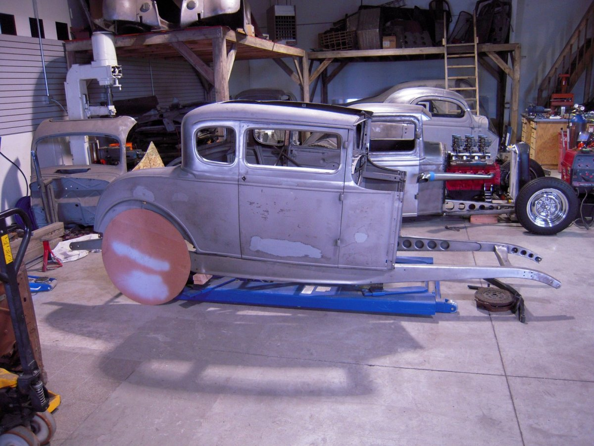 1930 Model A Coupe Body (Chopped professionally) needs little | The ...