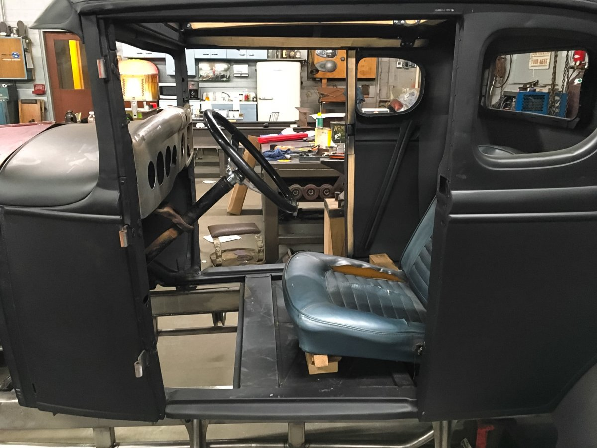 Steering Column In Model A Coupe 35-35 Ford Dash Mustang Seat.jpg
