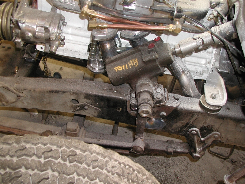 Technical - What Power steering unit on a 1953 F-100