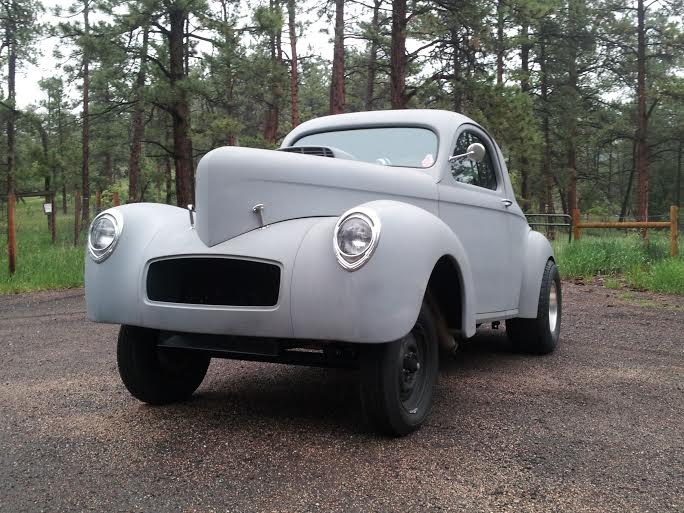 1941 Willys Coupe Gasser The H A M B
