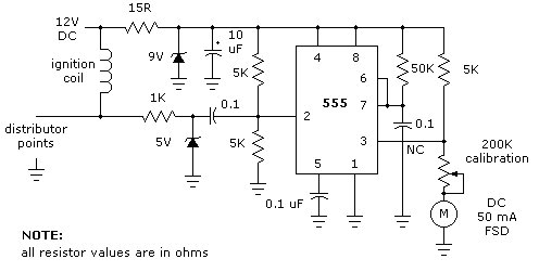 Sun tachometer wiring diagram