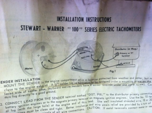 need info on sw tachometer the h a m b,Stewart Warner Wiring Diagrams