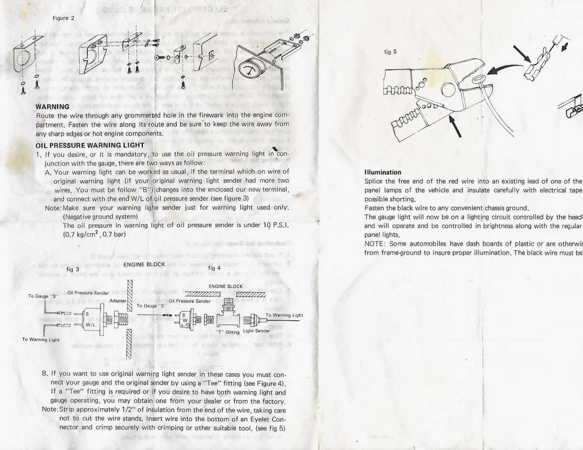 fx wiring diagram tach stewart warner stage iii gauges page 2 the h a m b  stewart warner stage iii gauges page