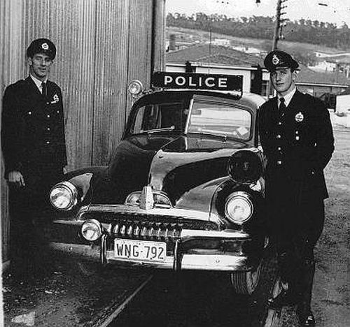 Old Montgomery County Texas Patrol Cars