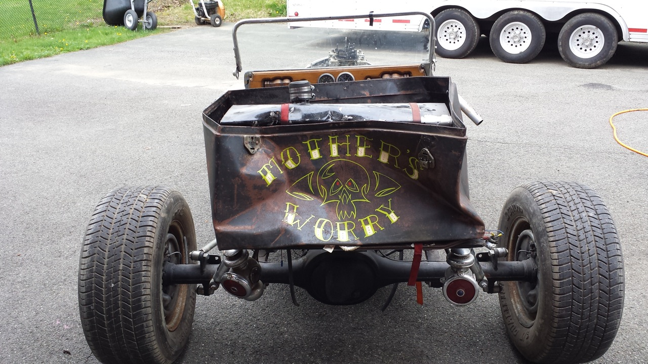 1927 T Bucket Custom Hot Rod 60 S Show Car Project Parts