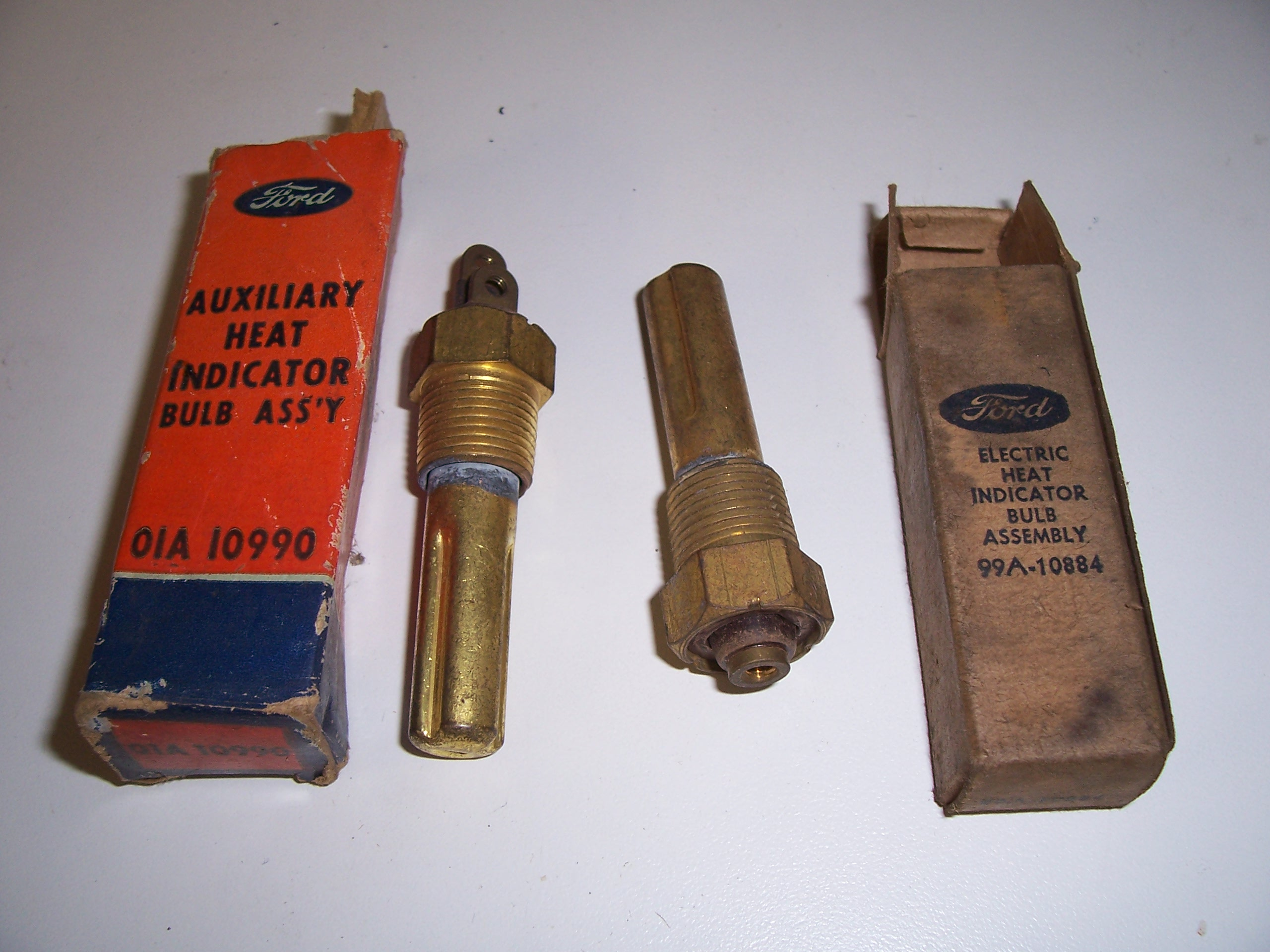 Technical - Parts Store Temp Sending unit / Old Ford gauges? | The