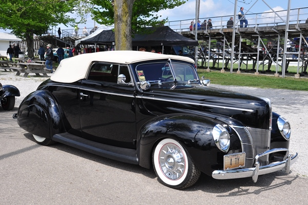 1940 Ford Convertible Chopped Top Custom The H A M B