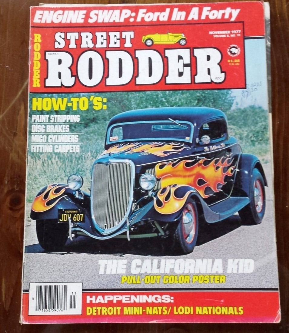 Hot Rods - the California kid? | Page 5 | The H.A.M.B.