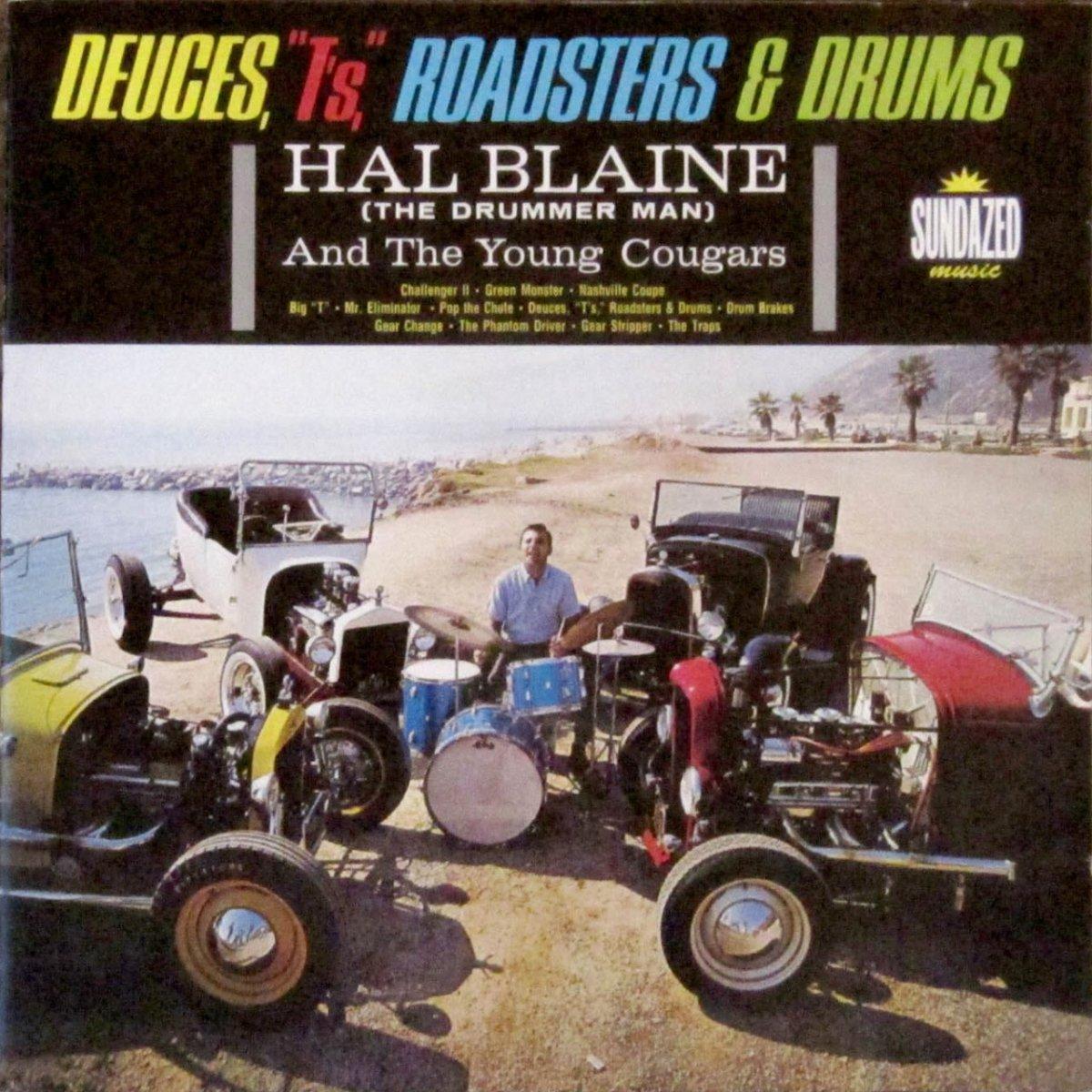 Tom Booth '30 Model A Roadster (Hal Blaine Album cover).jpg