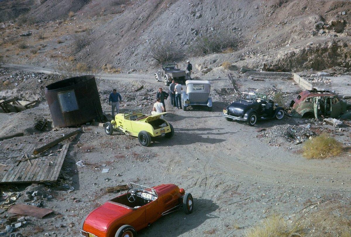 Tom Booth '30 Model A Roadster (LA Roadsters Mine).jpg