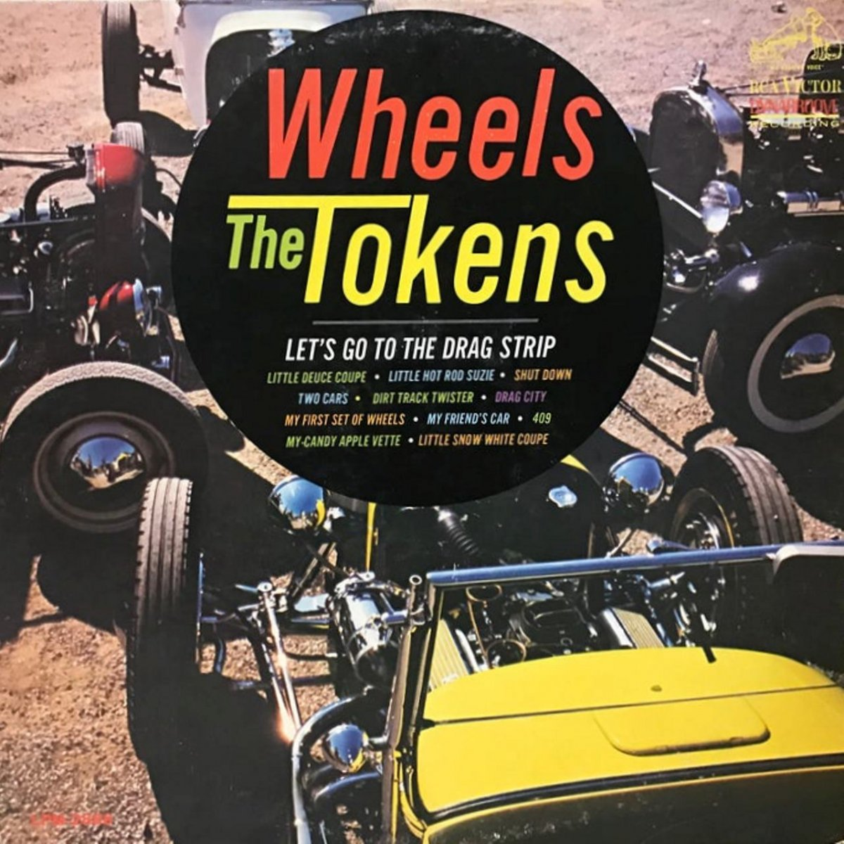 Tom Booth '30 Model A Roadster (The Tokens Album cover).jpg