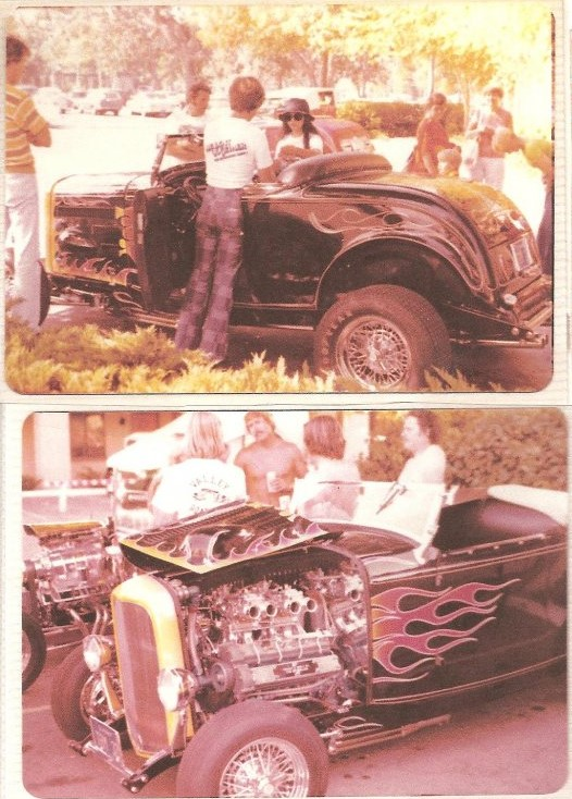Tom McMullen's new '32 roadster with Mosher engine 1976.jpg