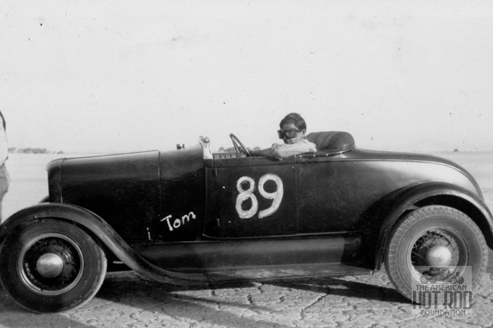 Tommy Sparks in his A-V8 (Rosamond '45).jpg