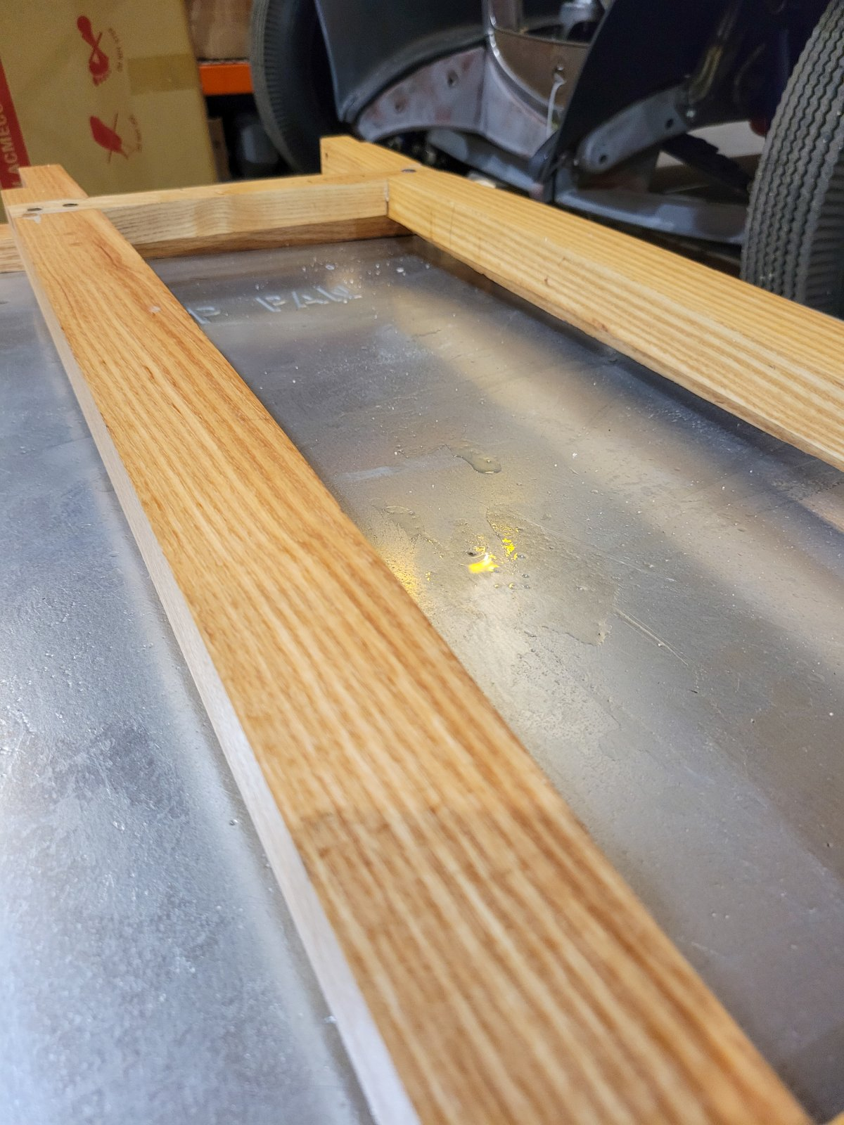 Tung Oil and Turpentine Coat on Model A Wood.jpg