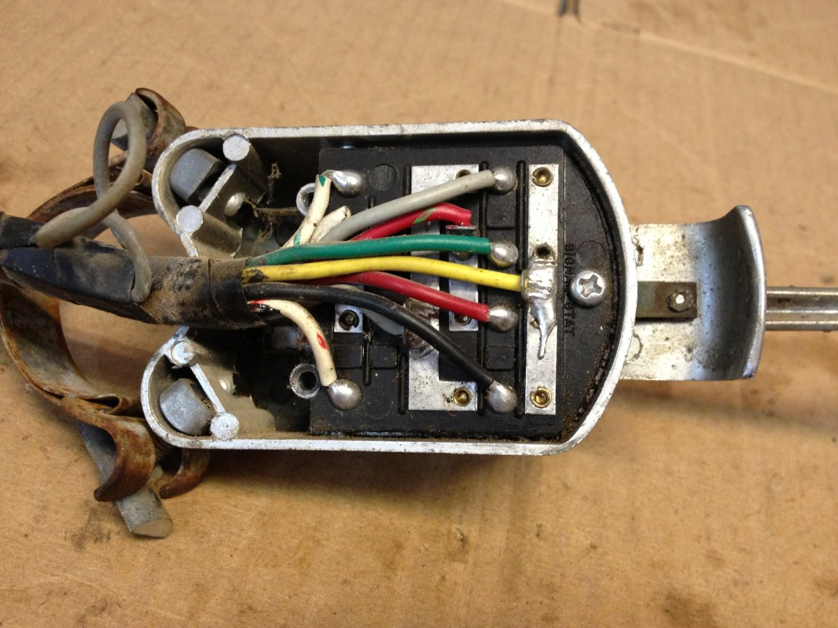 Technical - Signal Stat 900 11 wire turnsignal switch | The H.A.M.B. | Turn Signal Switch Wiring Schematics |  | The Jalopy Journal