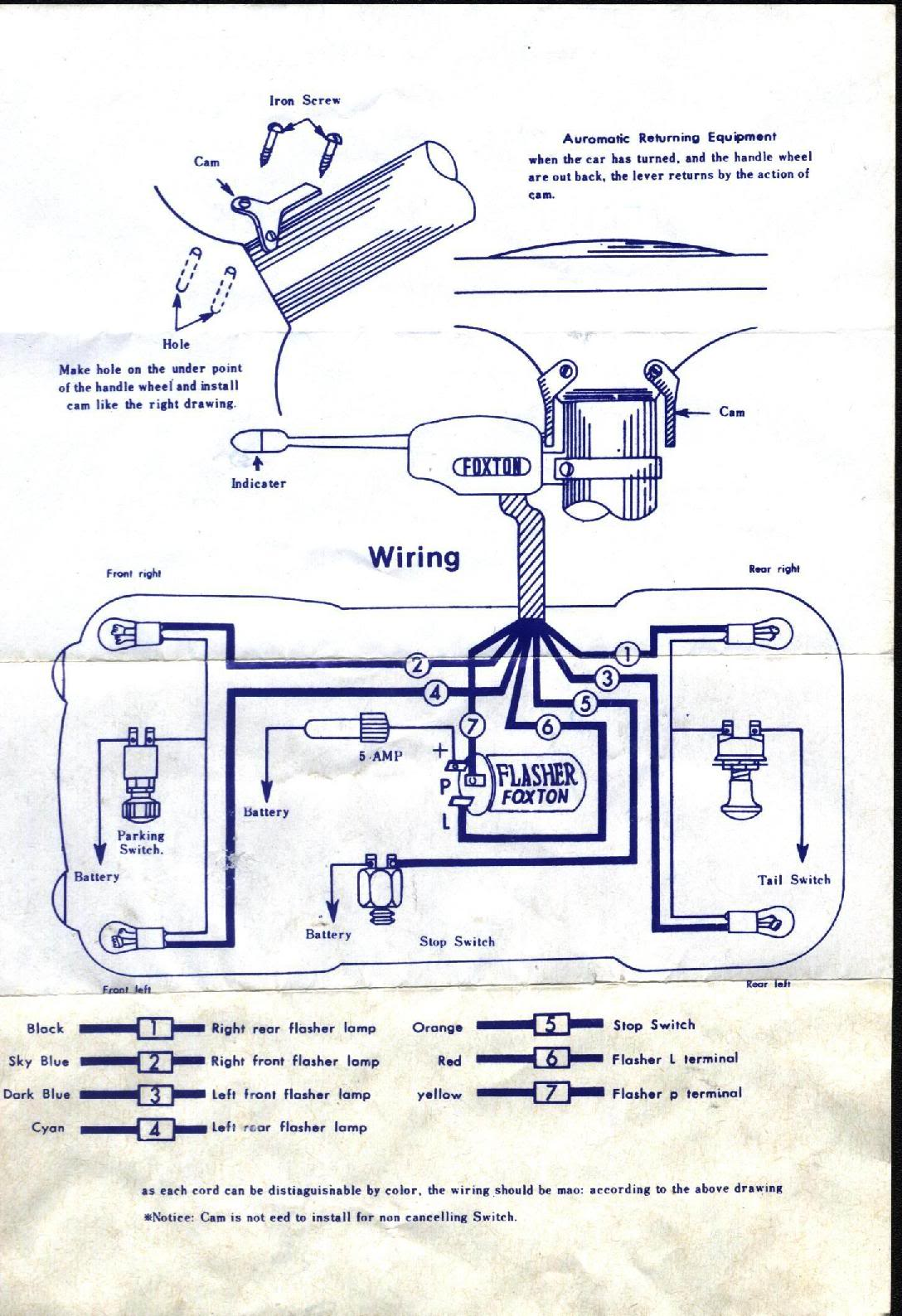 sparton blinker wiring diagram turn signal flasher diagram