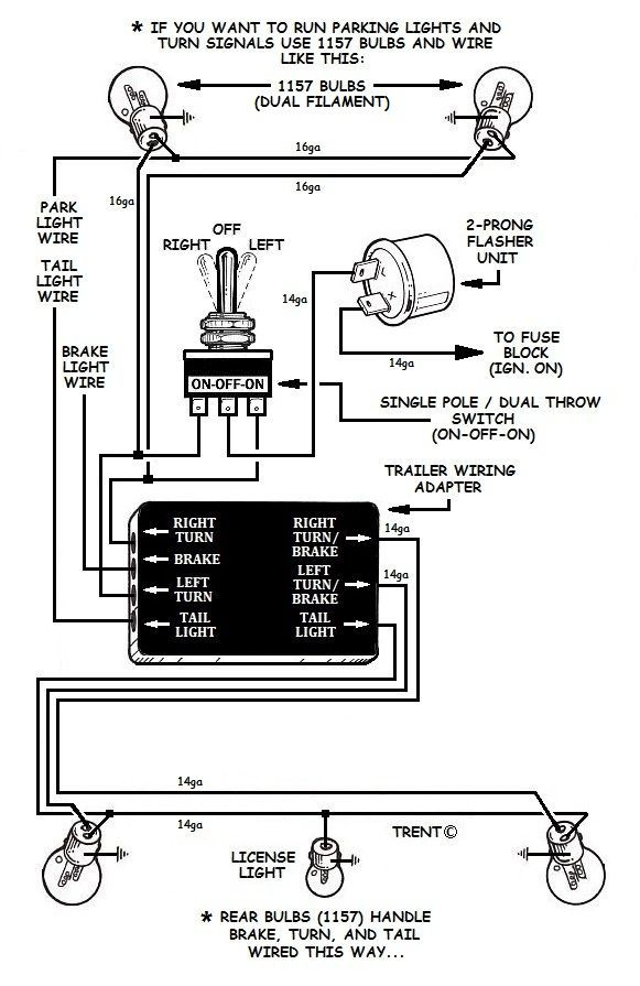 [DIAGRAM_0HG]  Customs - Stop/Turn Light Wiring? | The H.A.M.B. | Custom Motorcycle Tail Light Wiring Diagrams |  | The Jalopy Journal