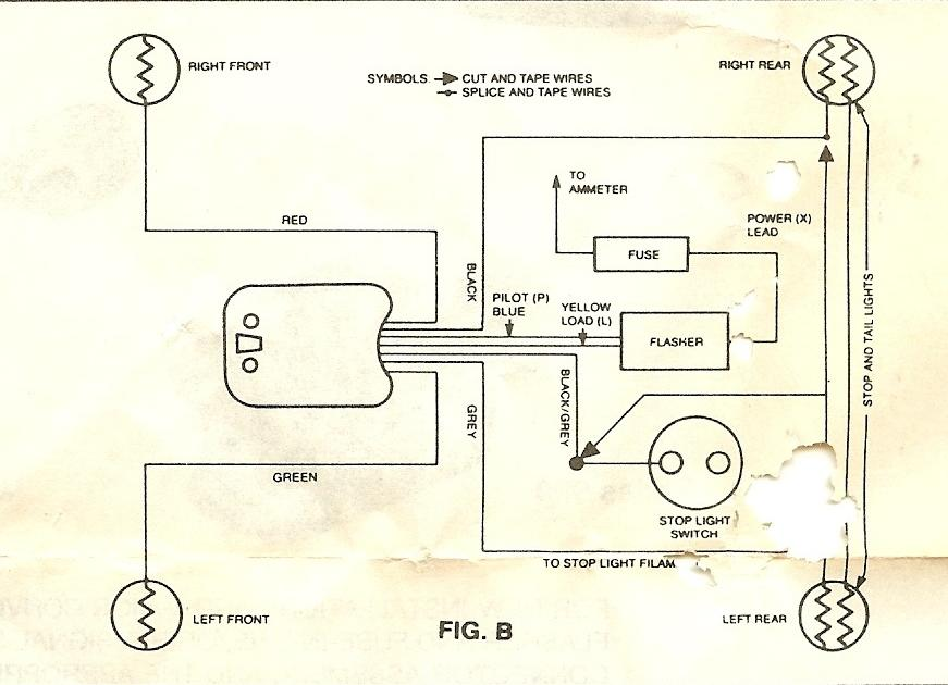 universal turn signal switch wiring diagram solidfonts universal turn signal switch wiring diagram wire