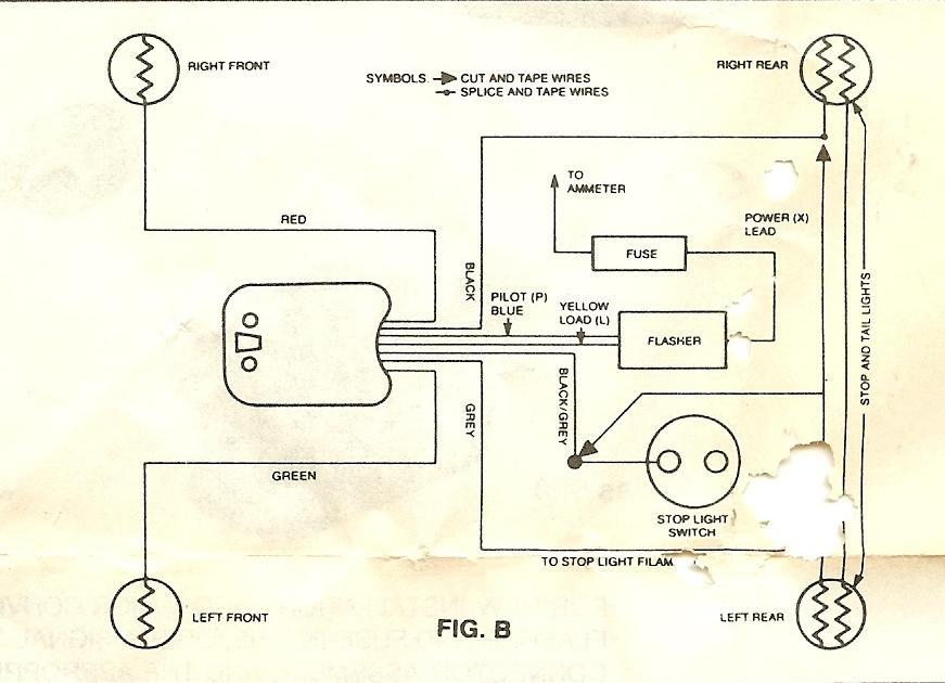 signal stat 900 turn signal wiring diagram   42 wiring