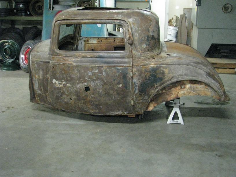 SOLD 1932 Ford 3 Window Coupe Original Body Sell/Trade | The H.A.M.B.