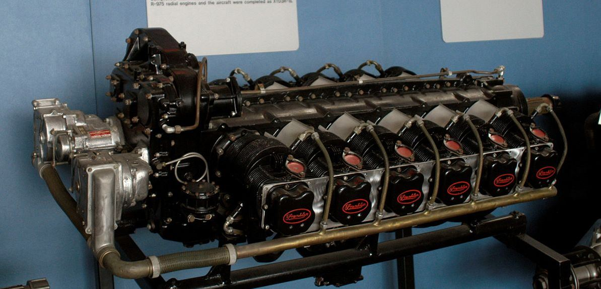 unusual eng  Franklin O-12. 805 CI, 450 HP used in prototype WWII drones..JPG