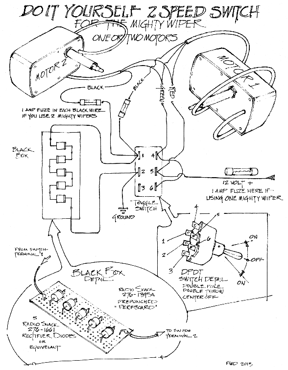 Bobcat Windshield Wiper Motor Wiring Diagram And Wiring