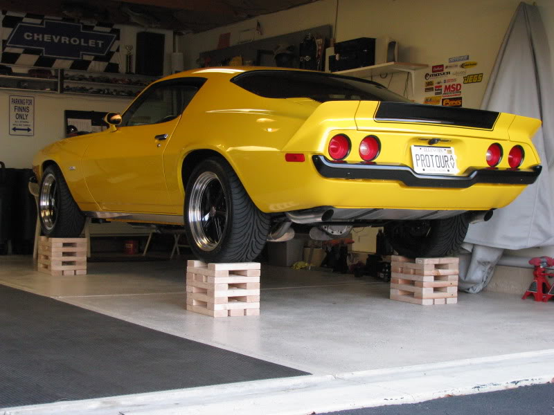 Projects Wheel Stands For Lifting And Supporting A Car