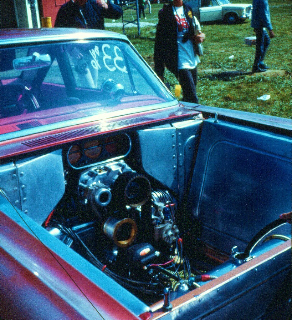 US Nationals Indy 1965 #15 Jack Chrisman Merc Comet 427 SOHC.jpg