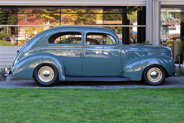 Hot rods let 39 s have our own 77th anniversary event for for 1940 ford 4 door sedan