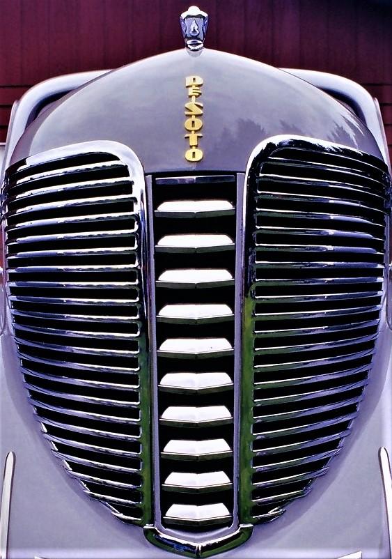 vintage DeSoto grille and headlights (2).jpg