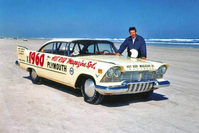 Wally Parks & Suddenly at Daytona Beach in 1957.jpg