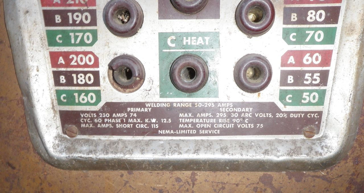 OLD Welder Need HELP...1940\'s..??? Make it Safe   The H.A.M.B.