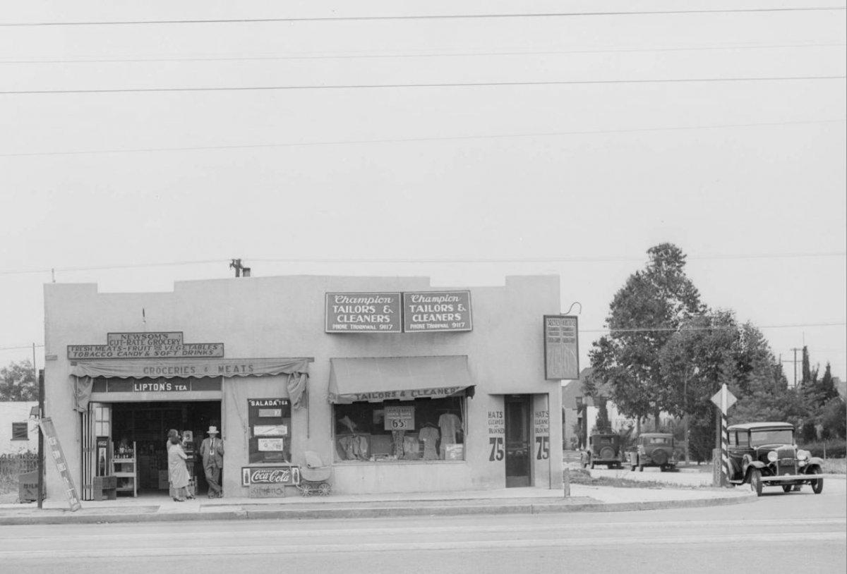 West 106th & South Vermont, Los Angeles, 1931  .jpg