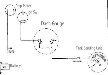 technical sw fuel gauge wiring woes!!! the h a m b Wiring For Gas Gauge gas gauge wiring wiring diagram