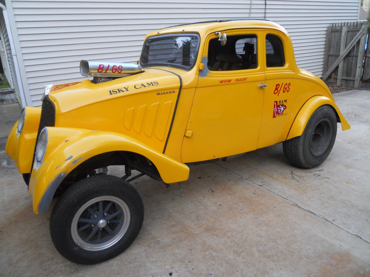 Projects looking for any history on this 1933 willys coupe