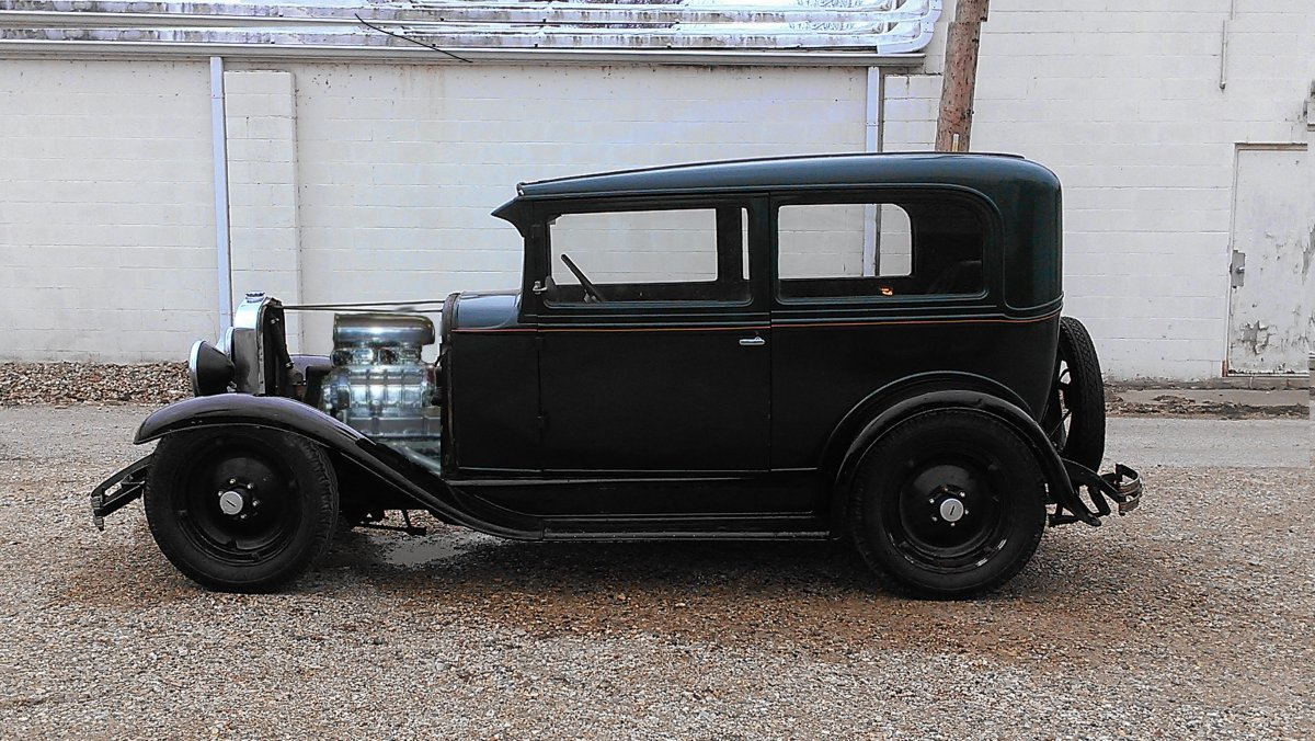 1930 Chevy Sedan Hot Rod 2dr Stovebolt | The H.A.M.B.