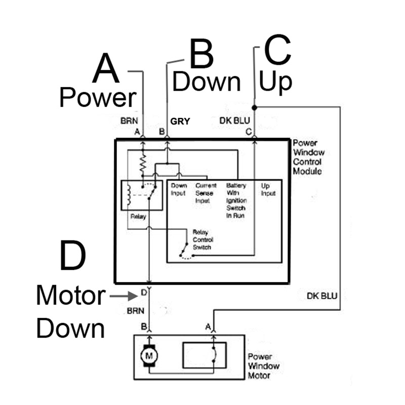 Gm window motor diagram gm wiring diagrams instructions technical help me understand gm power windows the hamb wiring diagram 1 module gm cheapraybanclubmaster Choice Image