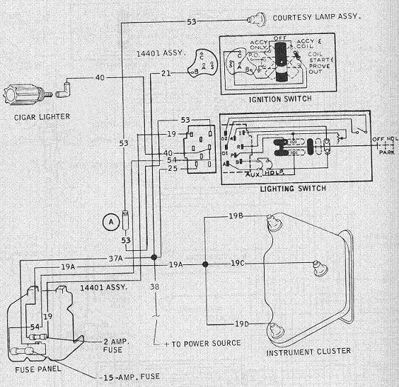 ford headlight switch wiring diagram??? the h a m b ford headlight wiring diagram at crackthecode.co