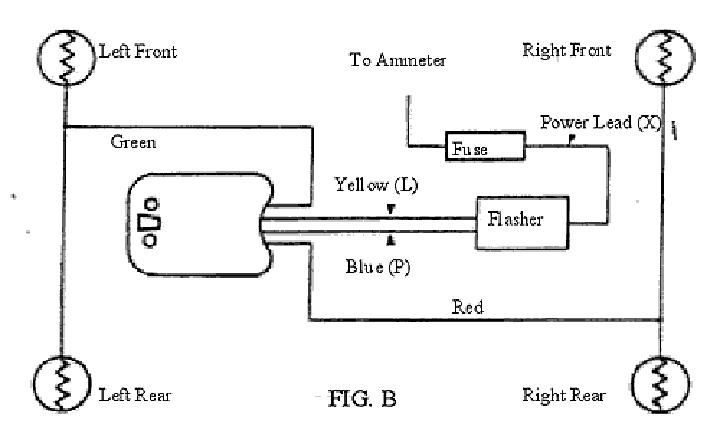 universal turn signal switch wiring diagram   43 wiring