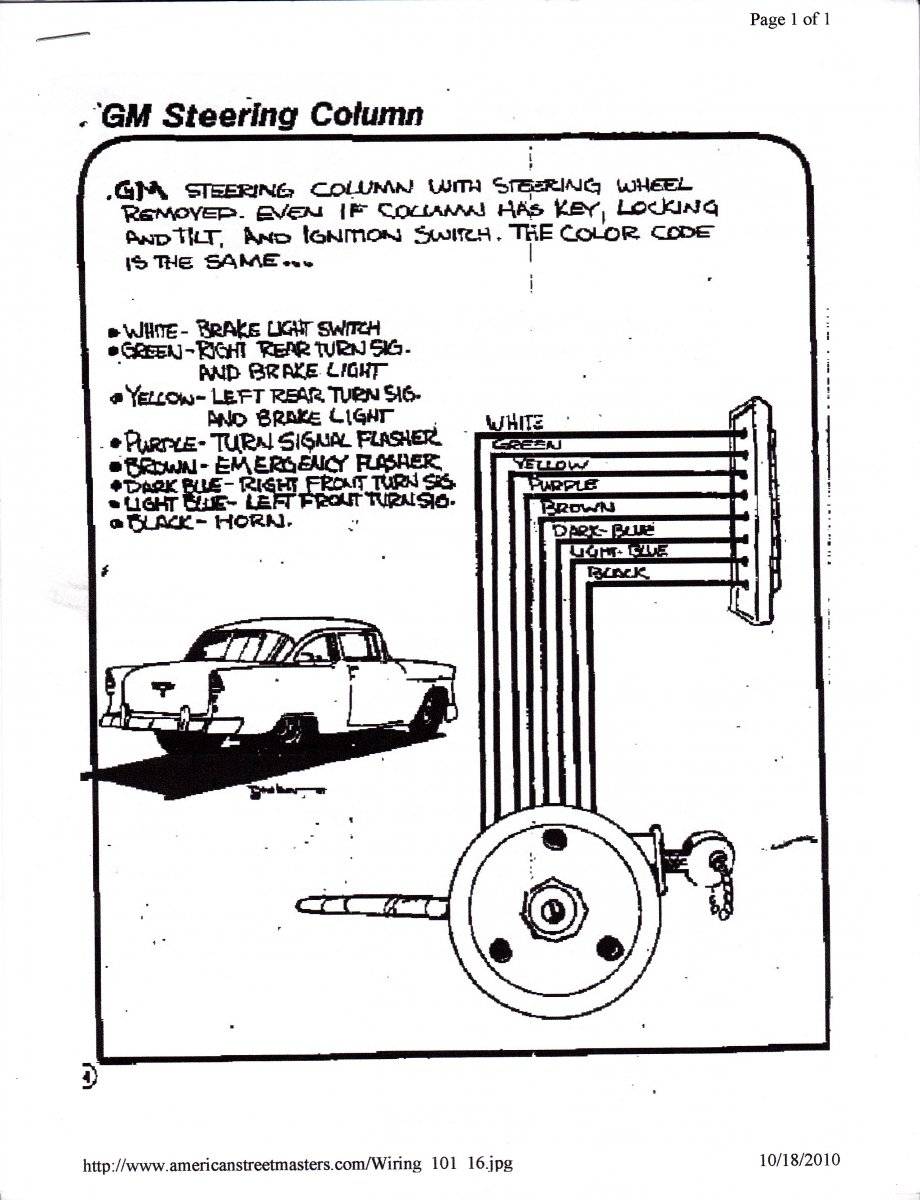 technical - wiring up turn signal switch | the h.a.m.b.  the jalopy journal