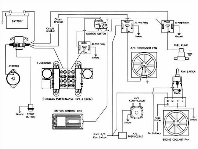hot rods wiring 1940 ford ignition switch the h a m b hot rod wiring schematic at mifinder.co