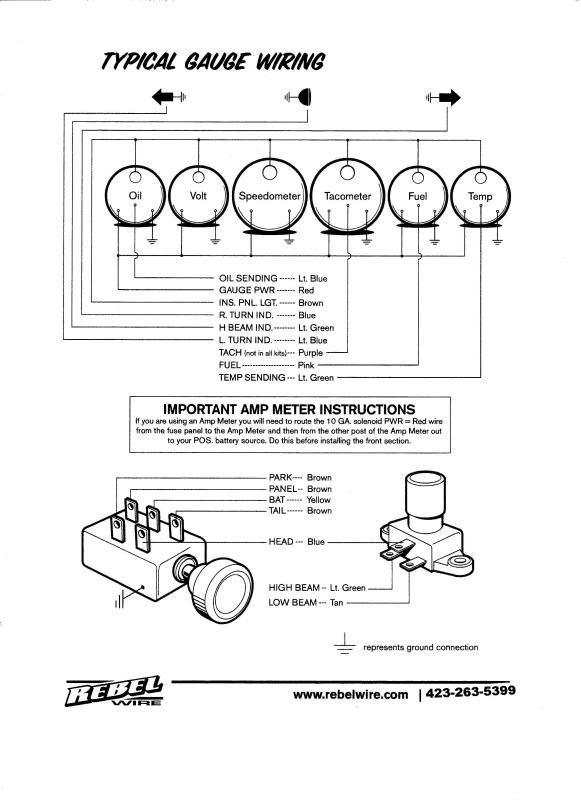 hot rods technical rebel wire the h a m b rh jalopyjournal com Honda Rebel 250 Wiring Diagram Rebel Wiring Harness Diagram